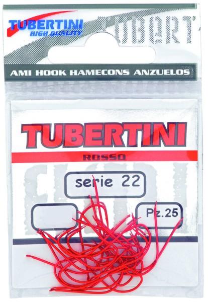 Tubertini Forellenhaken Serie 22 - rot