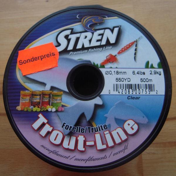 Stren Focus Forelle - 0,16 mm