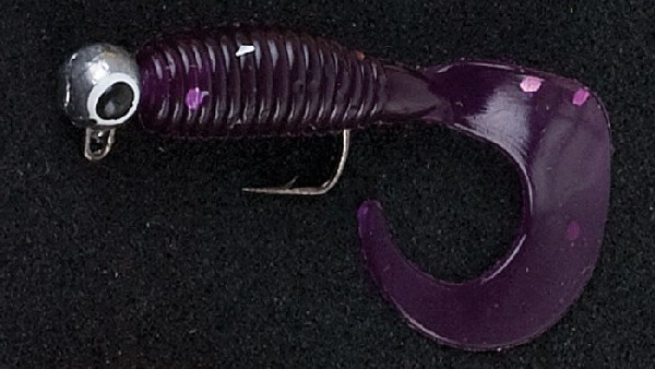 Sänger Iron Trout Micro-Twister - lila-glitter