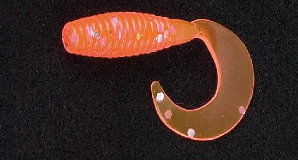Sänger Iron Trout Micro-Twister - rot-glitter