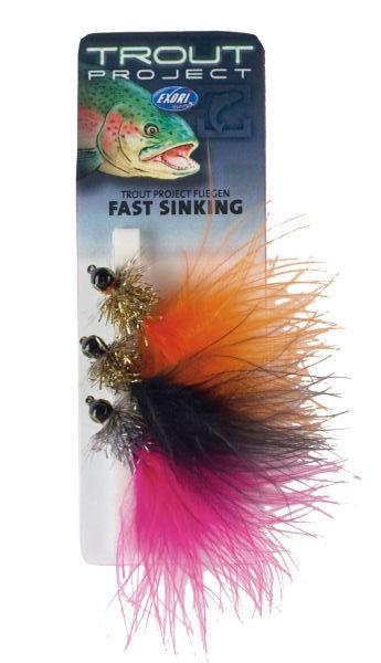 Exori Trout Project Fliegen - fast sinking
