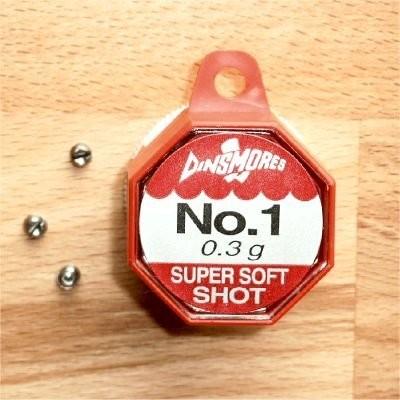 Dinsmores Super Soft-Schrotblei - No.1