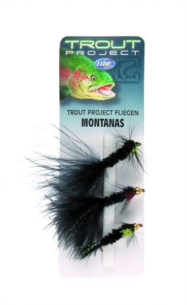 Exori Trout Project Fliegen - Montanas